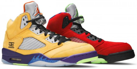 Fake Air Jordan 5 Retro What The
