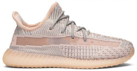 Fake ADIDAS YEEZY Shoes 350 V2 'SYNTH' NON REFLECTIVE (TODDLERS AND YOUTH)