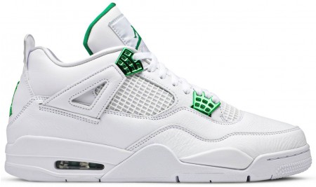 Fake Air Jordan 4 Retro Metallic Green