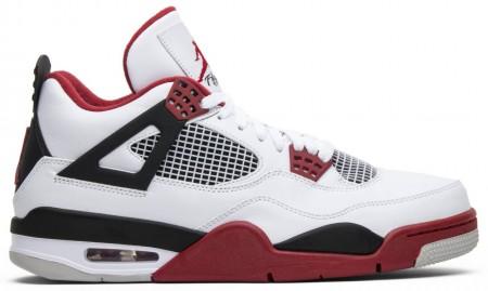 Fake Air Jordan 4 Retro Fire Red (2012)