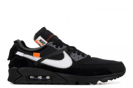 """The 10: Nike Air Max 90 """"OFF-WHITE"""" Black online"""