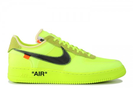 Fake Nike Air Force 1 Low Off-White Volt