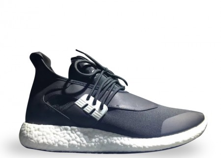 """Fake Adidas Y-3 Pureboost """"Black White Shoes"""" for Sale"""