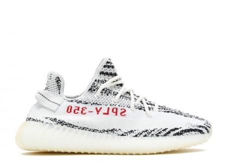 Fake II Adidas Yeezy Shoes 350 V2 Zebra