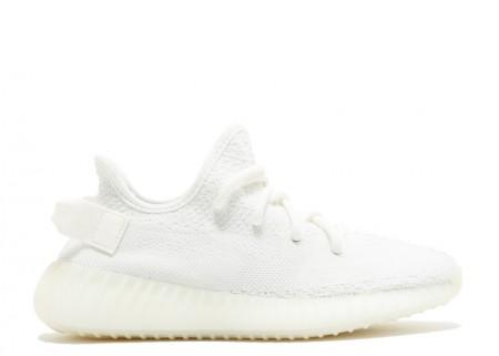 Fake II Adidas Yeezy Shoes 350 V2 Cream All White