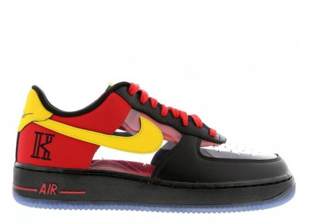 """Fake Nike Air Force 1 CMFT Signature QS """"Kyrie Irving"""" Universtiy Red for Sale"""