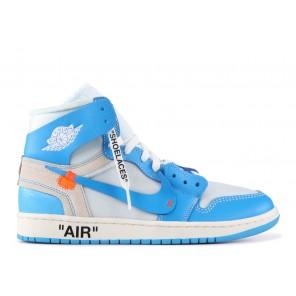 Fake Air Jordan 1 X Off White University Blue