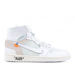 Fake Air Jordan 1 X OFF WHITE NRG High White