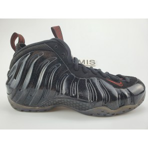 Fake NIKE AIR FOAMPOSITE ONE BLACK GOLD-RED