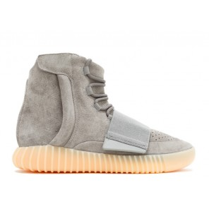 "Fake Adidas Yeezy Shoes 750 Light Grey Gum ""Glow in the Dark"""