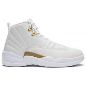 Fake Air Jordan 12 Retro OVO White