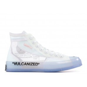 Fake Off White Converse All Star Collection Vulcanized White Online
