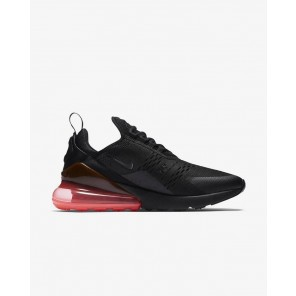 Fake Air Max 270 Black Sneaker Red Sole Black Logo for Sale Online