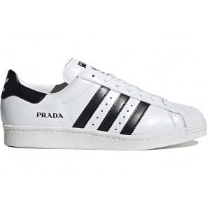 Fake adidas Superstar Prada White Black