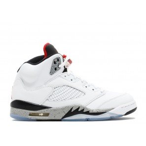 Fake Air Jordan 5 Retro White Cement Online