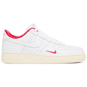 Fake KITH X AIR FORCE 1 LOW WHITE RED